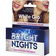 WHITE GLO Bright Nights Instantly Whiter Smile 6 ks - bieliaci gél