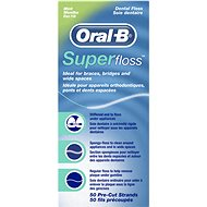 ORAL B Super Floss Mint 50 m - Dental Floss
