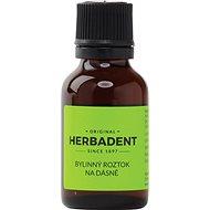 HERBADENT ORIGINAL Herbal Solution for Gum Massage 25ml - Solution
