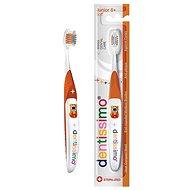 DENTISSIMO Junior 6+ oranžová - Detská zubná kefka