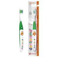 DENTISSIMO Junior 6+ zelená - Detská zubná kefka