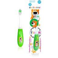 DENTISSIMO Kids Timer, zelený - Detská zubná kefka