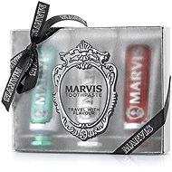MARVISStrong & Whitening & Cinnamon 3× 25 ml - Sada ústnej hygieny