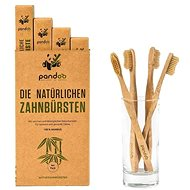 PANDOO Bamboo Medium Soft 4 Pcs - Toothbrush