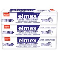 ELMEX Dental Enamel Protection Professional 3× 75 ml - Zubná pasta