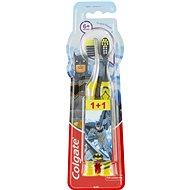 COLGATE Batman (od 6 rokov), 2 ks - Detská zubná kefka
