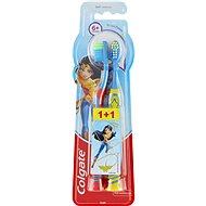 COLGATE Wonder Women (od 6 rokov), 2 ks - Detská zubná kefka