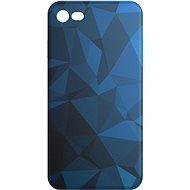 AlzaGuard iPhone 7/8/SE 2020 Blue Geometry Madness - Kryt na mobil