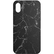 AlzaGuard – Apple iPhone X/XS – Čierny Mramor - Kryt na mobil