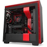 NZXT H710 čierno-červená - Počítačová skriňa