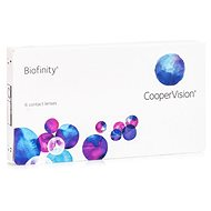 Biofinity (6 šošoviek) dioptrie: -6.00, zakrivenie: 8.60 - Kontaktné šošovky