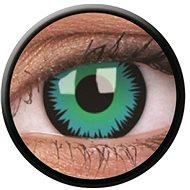 ColourVue Crazy, Green Werewolf, ročné, nedioptrické, 2 šošovky - Kontaktné šošovky