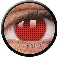 ColourVue Crazy, Red Screen, ročné, nedioptrické, 2 šošovky - Kontaktné šošovky