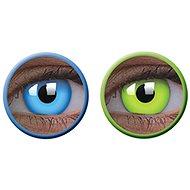 ColourVue Crazy UV svietiace, ročné, nedioptrické, 2 šošovky - Kontaktné šošovky