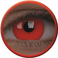 ColourVue Crazy UV svietiace, Glow Red, ročné, nedioptrické, 2 šošovky - Kontaktné šošovky