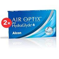 2× Air Optix Plus Hydraglyde (6 Lenses)