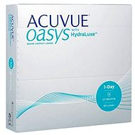 Acuvue Oasys 1 Day with HydraLuxe (90 Lenses) - Contact Lenses