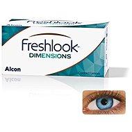 FreshLook Dimensions Pacific Blue (2 Lenses) Dioptre: 0.00, Curvature: 8.5 - Contact Lenses