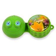 Optipak 3D puzdro – žaba - Puzdro na kontaktné šošovky
