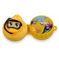 Optipak 3D puzdro – kačička - Puzdro na kontaktné šošovky