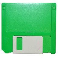 Kaida puzdro zostava Disketa – zelené - Puzdro na kontaktné šošovky