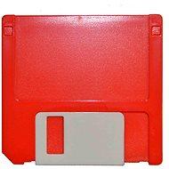 Kaida puzdro zostava Disketa – červené - Puzdro na kontaktné šošovky