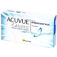 Acuvue Oasys with Hydraclear Plus (12 Lenses) - Contact Lenses