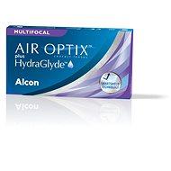 Air Optix plus HydraGlyde MULTIFOCAL (3 šošovky) - Kontaktné šošovky