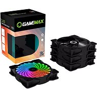 GameMax CL400 (4-pack) - Ventilátor do PC