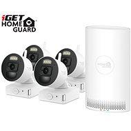 iGET HOMEGUARD HGNVK88004P + 4× IP kamera FHD 1080p - Kamerový systém