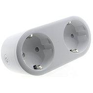iQ-Tech SmartLife WS017, WiFi 2× zásuvka, 16 A - Inteligentná zásuvka