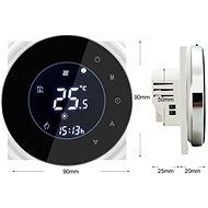iQtech SmartLife GCLW-B, WiFi termostat pre bojlery a kotly s bezpotenciálovým spínaním, čierny - Termostat