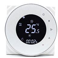 iQtech SmartLife GALW-W, WiFi termostat pre kotly s potenciálovým spínaním, biely - Termostat