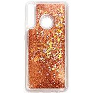 Kryt na mobil iWill Glitter Liquid Star Case pre Huawei P40 Lite E Rose Gold - Kryt na mobil