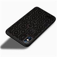 MoFi Anti-slip Back Case Irregular iPhone Xr Čierny - Kryt na mobil