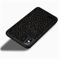 MoFi Anti-slip Back Case Irregular iPhone Xs Čierny - Kryt na mobil