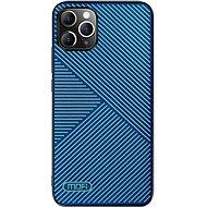 MoFi Anti-slip Back Case Strip iPhone 11 Pro Modrý - Kryt na mobil