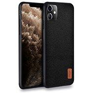 MoFi Fabric Back Cover iPhone 11 Čierny - Kryt na mobil