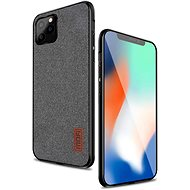 MoFi Fabric Back Cover iPhone 11 Pro Sivý - Kryt na mobil