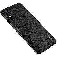 MoFi Litchi PU Leather Case Samsung Galaxy A10 Čierny - Kryt na mobil