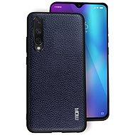 MoFi Litchi PU Leather Case Xiaomi Mi A3 Modrý - Kryt na mobil