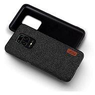 Kryt na mobil MoFi Fabric Back Cover Xiaomi Redmi Note 9 Pro/9S Čierny - Kryt na mobil