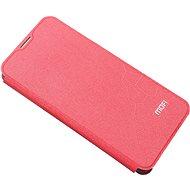 Puzdro na mobil MoFi Flip Case Xiaomi Redmi Note 9 Pro/9S Červený - Pouzdro na mobil