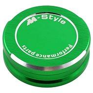 M-Style víčko nádobky brzdové kapaliny - zelené - Viečko nádobky brzdovej kvapaliny