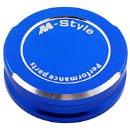 M-Style víčko nádobky brzdové kapaliny - modré - Viečko nádobky brzdovej kvapaliny