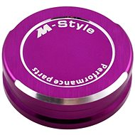 M-Style víčko nádobky brzdové kapaliny - fialové - Viečko nádobky brzdovej kvapaliny