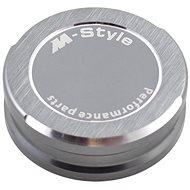M-Style víčko nádobky brzdové kapaliny - titanově šedé - Viečko nádobky brzdovej kvapaliny