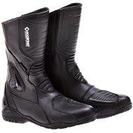 KORE Sport Touring čierne/žlté - Topánky na motorku