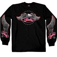 Hot Leathers Freedom Eagle Long - Moto tričko