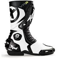 XPD VR6 (čierne/biele) - Topánky na motorku
